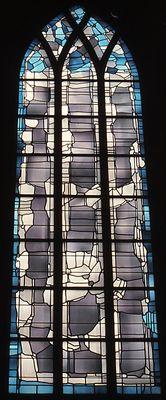Hupert Spierling (1979) Bochum, Kath. Kirche St. Antonius. Fenster in der Chorkapelle.