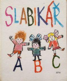 Slabikar Czech children's learning book vintage by Mummysvintage Retro 1, Retro Toys, Retro Style, Vintage Children's Books, Vintage Toys, My Roots, Vintage Italian, Vintage Barbie, Retro Fashion