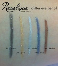 Revelique glitter eye pencil 10 - 50 #revelique #glitter
