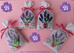 petits sacs de lavande, explications sur mon blog