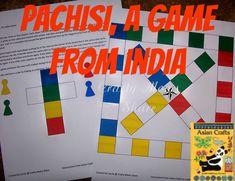 Another option for making your own Pachisi game. All ages.