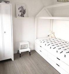 Manowoods bedhuisje Alto Cajón 90x200cm (incl lattenboden + lades of bedlade)