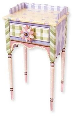 painted furniture | Tutorial on painting furniture #funkyfurniture