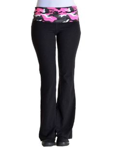 Moon Shine Attire Muddy Girl Pink Camo Edge Athletic Yoga Pants ...