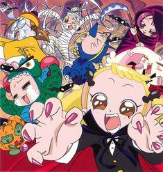 Tags: Ojamajo DoReMi, Harukaze Doremi, Senoo Aiko, Fujiwara Hazuki, Segawa Onpu, Asuka Momoko, Makihatayama Hana, Official Art, Umakoshi Yos...