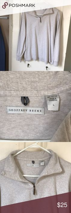 Quarter zip sweater NWOT Geoffrey beene quarter zip pull over sweater in size large Geoffrey Beene Sweaters Zip Up