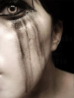 Silent tears. Depression and anxiety are invisible to the naked eye.