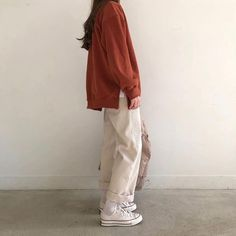 Fashion Ideas For Work Tomboy Fashion fashion ideas work Tomboy Fashion fashion ideas Tomboy work Moda Outfits, Retro Outfits, Casual Outfits, Cute Outfits, Girl Outfits, Korean Street Fashion, Asian Fashion, Look Fashion, Ulzzang Fashion