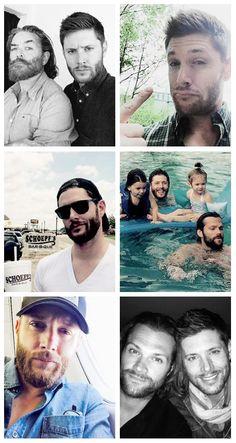 Jensen's hiatus beard ❤ʚ❤ mmm he looks so damn hot!! || Jensen Ackles || Jensen on twitter  #twitter #HiatusBeard 2015