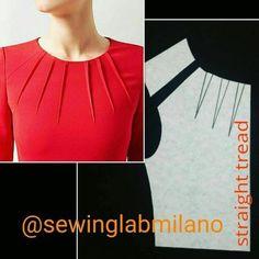 Dress Sewing Patterns, Blouse Patterns, Sewing Patterns Free, Clothing Patterns, Blouse Designs, Pattern Drafting Tutorials, Pattern Draping, Bodice Pattern, Fashion Sewing