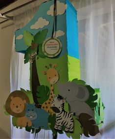 New baby shower ideas safari boy ideas Safari Theme Birthday, Wild One Birthday Party, Safari Birthday Party, Baby Boy Birthday, Animal Birthday, Boy Birthday Parties, Girl Safari Party, Safari Thema, Decoration