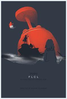 FLCL Minimalist Poster