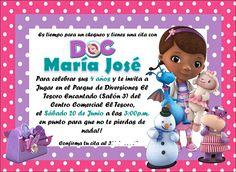 Invitación Doctora Juguetes