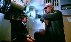 ♥ Philippe Noiret (a Direita) com Salvatore Cascio em Cinema Paraíso (1988)