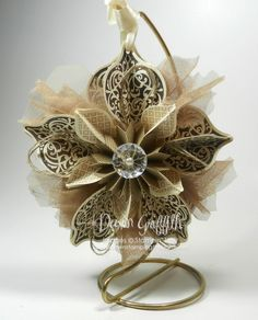Handmade christmas ornaments - this is a beauty!