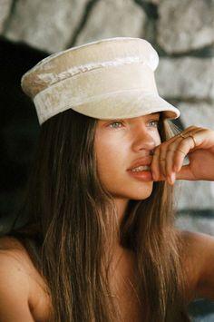 Cassandra photographed by Cameron Hammond Photography Career, Film Photography, Cameron Hammond, Baker Boy Cap, Tori Praver, Portraits, Woman Beach, White Girls, Hats For Men