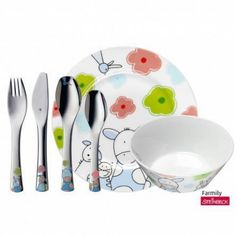 Find cutlery, special cutlery pieces, children´s cutlery and tableware at the WMF online shop. Wmf, Cutlery Set, Spoon Rest, Winnie The Pooh, Prince, Plates, Tableware, Kids