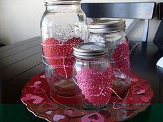 Sumo's Sweet Stuff: .:Tutorial Tuesday - Heart Doily Jars:.