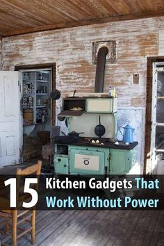 What if the power is out and you want to use the blender, the toaster, the coffee pot, etc? Fortunately, there are many non-electric alternatives. #kitchen #kitchengadgets #offthegrid #offgridliving