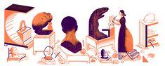 Il y a 155 ans naissait Camille Claudel Camille Claudel, Auguste Rodin, Logo Google, Art Google, Sonia Delaunay, Doodle Google, Best Google Doodles, French Sculptor, You Doodle