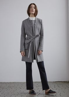 The best thing about fall and winter dressing is the outerwear. 100%. So when someone like Alexandra Shipper launches a label solely dedicated to coats and blazers, we get excited. After traveling to Europe to witness experience elaborate hand executed techniques when it came to dressmaking, and