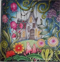 Romantc Country 2, tutorial Chris Cheng...#romanticcountrycoloringbook #coloriage #coloringbookforadults #prismacolor #lapisdecor