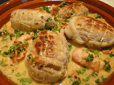 Delicious veal paupiettes with fall flavors, a seasonal dish with a subtle mixture of button mushrooms and porcini mushrooms, all combined with a slightly creamy sauce that delighted my little family! For 4 people Preparation: 20 min 4 … Lunch Recipes, Healthy Dinner Recipes, Healthy Christmas Recipes, Vegetarian Lunch, Cooking Chef, Creamy Sauce, Quick Snacks, 20 Min, French Food