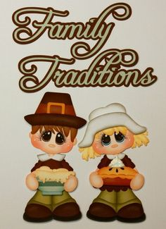 """""""Family Traditions"""" paper piecing set"""