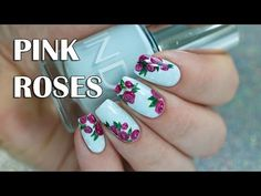 FLOWER NAIL ART COMPILATION  10 WAYS TO CREATE FLOWER NAILS   SUMMER HOW TO BASICS   MELINEY - YouTube