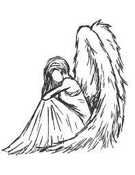 Resultado de imagem para tumblr desenho anjo
