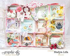 How to Create Double Sided Shadowbox Calendar With Tags