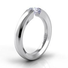 Danhov Floating Engagement Ring