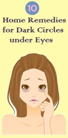 Home Remedies for Dark Circles under Eyes.. by suzette