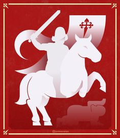 Santiago y cierra España. Apóstol Santiago. Moose Art, Animals, Santiago, Animales, Animaux, Animal, Animais