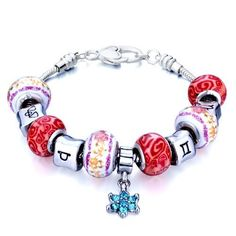 Valentines Day Gifts Pugster Beads Dangle Fit Pandora Chamilia Biagi Charm Murano Glass Bracelet Pugster. $49.99. Free Jewerly Box.. Stunning Colorful Murano Glass Style Designer Fashion bracelet. Handmade in China in the VenetianáMuranoáStyle. Great to give away as presents, gifts to friends or family members.. Money-back Satisfaction Guarantee