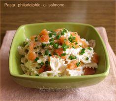 Pasta fredda salmone e philadelphia: un primo delicato e veloce. Perfetto in estate, quando non si ha tanta voglia di cucinare e si vuole rimanere leggeri.