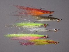 CLOUSER FLIES ..The best all-around fly for both fresh and saltwater fishing