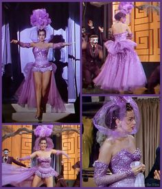 Ann Miller in an Adrian-designed costume in Lovely to Look At Golden Age Of Hollywood, Classic Hollywood, Old Hollywood, Helen Rose, Katharine Hepburn, Vintage Glamour, Lauren Bacall, Rita Hayworth, Burlesque Costumes