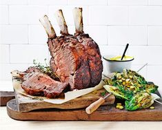 recipes for beginners – Easter Recipes Dinner Beef Rib Roast, Beef Ribs, Recipes For Beginners, Great Recipes, Favorite Recipes, Delicious Magazine Recipes, Fathers Day Lunch, Easter Dinner Recipes, Ribs On Grill