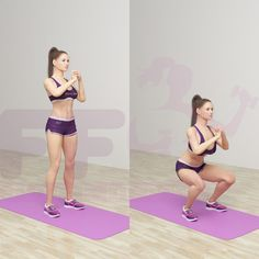 The Nike trainer Alex Silver-Fagan confirms that the squats are the key to get nice butt and beautiful legs. The best way is to combine the recommended exercises below with other training programs.…