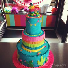Fiesta cake from Whipped Bakeshop!