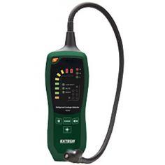 http://termometer.dk/gasanalysator-testere-r12832/kolemiddel-lakagedetektor-53-RD300-r35177  Kølemiddel lækagedetektor  Registrerer alle standard kølemidler ved hjælp af en opvarmet diode sensor  LED-lys på sonden (med tænd / sluk) for at arbejde i svagt oplyste områder  Lysdioder viser bruger-valgbare Høj / Medium / Lave niveauer med følsomhed 0.75/1.5/3.0 cl om året  Hørbar og visuel alarm med mute knap  Indikator for lavt batteriniveau  Felt udskiftelig sensor og LED-lys spids...