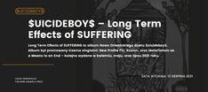 Premiera: Długoterminowe Efekty Cierpienia od SuicideBoys - Trapoffice.pl New Profile Pic, Lyrics, Album, Song Lyrics, Music Lyrics, Card Book