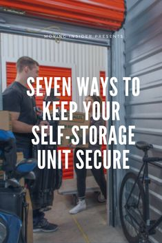 Housing your items at a secure self-storage facility is the first step to keeping your things protected. Check out these 7 tips. Secure Storage, Safe Storage, Storage Solutions, Storage Ideas, Customer Service Quotes, Self Storage Units, Storage Facility, Moving Tips, Business Quotes