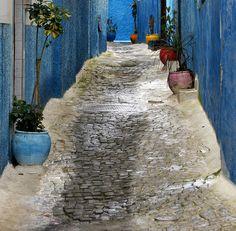 Side street in Rabat, Morocco