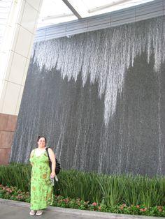Aria Resort: Stephanie @ Waterfalls