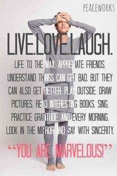 live.love.laugh.