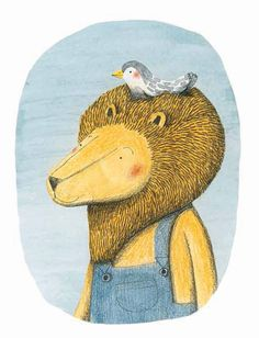 The Definitive Reading List of the 14 Best Books of 2014 Overall | Brain PickingsThe Lion and the Bird by  Marianne Dubuc