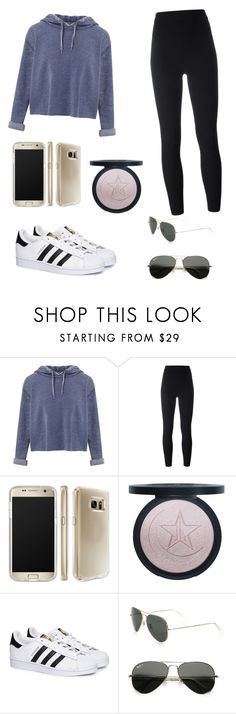 """""""HANNAH😘❤"""" by helizabethm03 ❤ liked on Polyvore featuring Miss Selfridge, adidas Originals, Speck, adidas and Ray-Ban"""