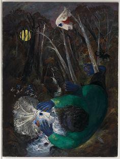 'Reflected Bride' by Arthur Boyd, Australian Painters, Australian Artists, Sidney Nolan, Arthur Boyd, Modern Art, Contemporary Art, Information Art, Avant Garde Artists, Paul Cezanne